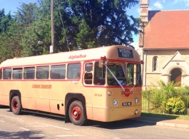 39 seat bus for weddings in Horsham